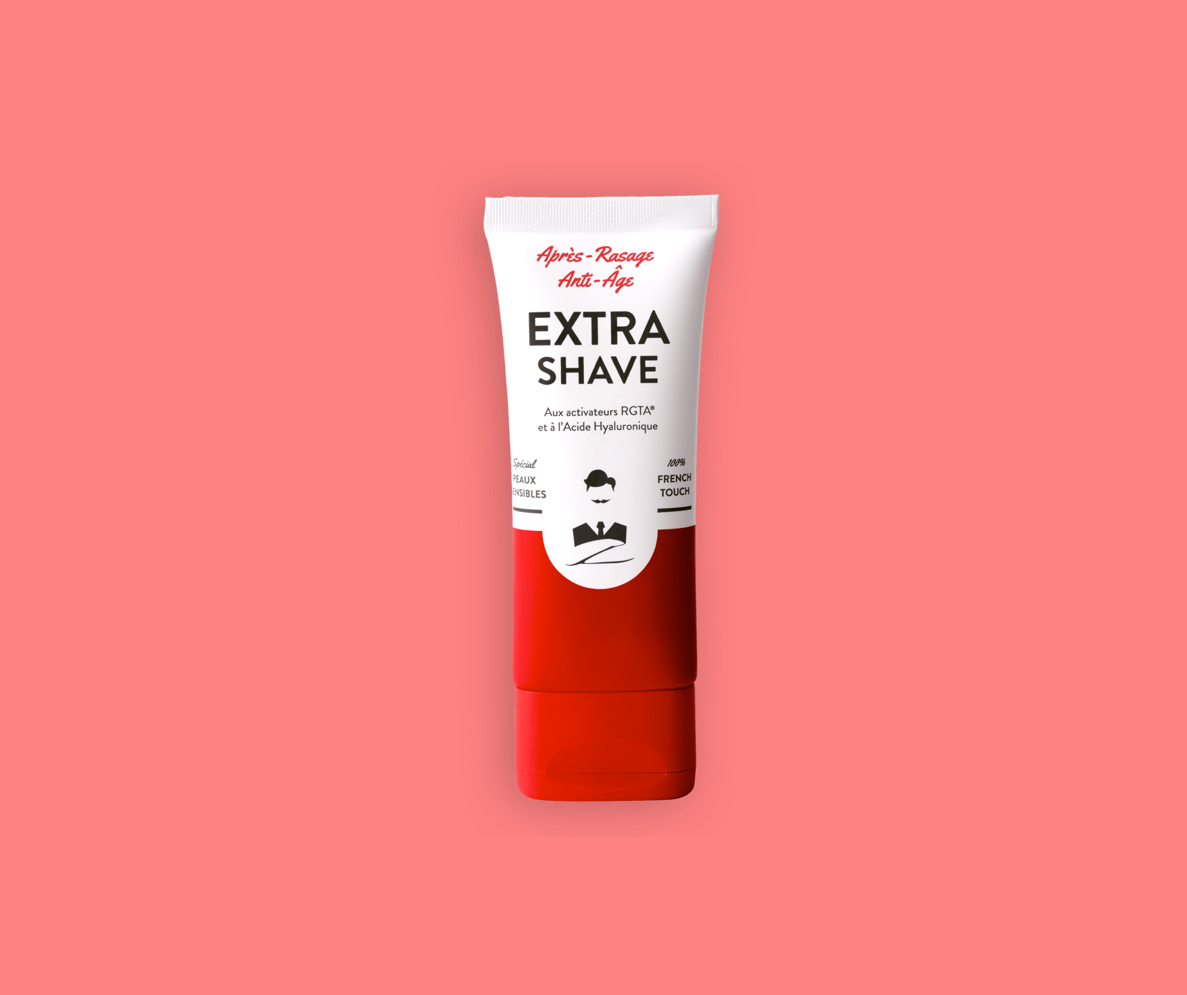 Extra-Shave Après Rasage Anti-Age Recto